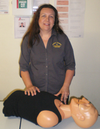 Donna conducts our First Aid Training courses and is also responsible for WHS